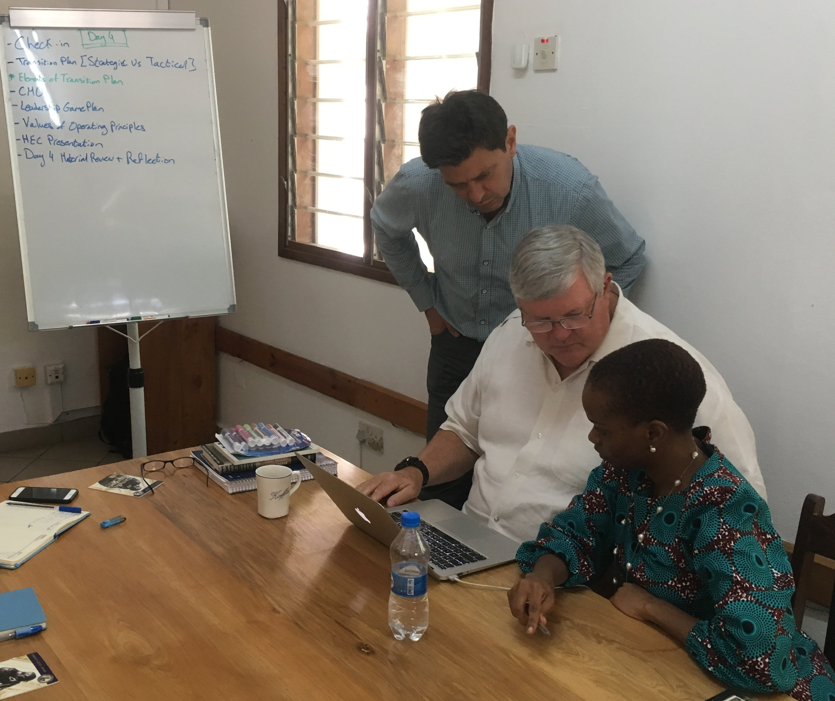 CCBRT healthcare Tanzania lean leadership training executive transition